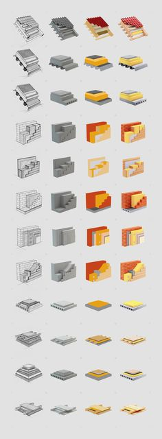 Rockwool icons on Behance