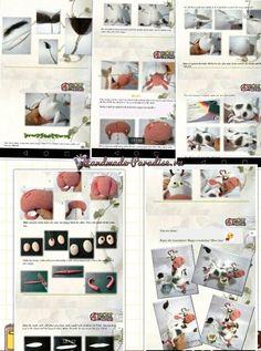 Веселая корова крючком. Амигуруми Crochet Animal Patterns, Stuffed Animal Patterns, Crochet Animals, Crochet Cow, Crochet Dolls, Toddler Toys, Kids Toys, Gifts For Kids, Halloween Decorations