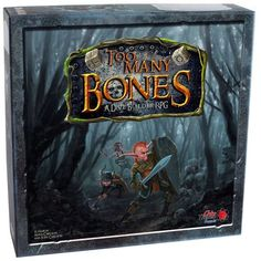 """Too Many Bones comes loaded for bear by breaking into a new genre: the dice-builder RPG. This game takes everything you think you know about dice-rolling and turns it on its head. Dripping with strategy, this fantasy-based RPG puts you in the skin of a new race and takes you on an adventure to the northern territories to root out and defeat growing enemy forces and of course the infamous """"baddie"""" responsible. Team up or go it alone in a 1-4 player Coop or Solo play campaign..."""