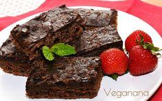 Em busca de inspiração para fazer brownie vegano, eu encontrei esta deliciosa receita do blog Presunto Vegetariano , e resolvi experimentar...