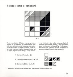Edward Zajec, 1971. Patterns generated from 18 different tiles.