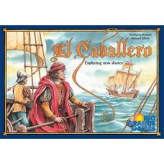 The players are following Columbus by exploring the islands he discovered. Players slowly explore the islands and discover wealth in the form of Gold and fish. As they learn about the land and sea areas of this new land, they position their Caballeros to try to maintain control of the important regions. Castillos give them a measure of protection from others and ships allow them to establish trade and fish for food. Success is measured in the size of land and sea areas they control. Their…