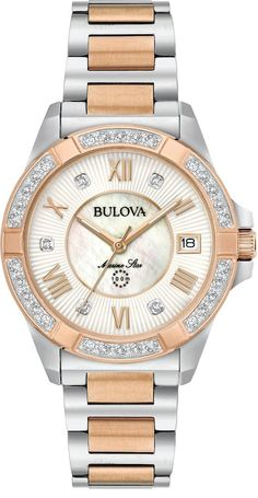 … Stainless Steel Watch, Stainless Steel Bracelet, Link Bracelets, Silver Bracelets, Star Watch, Bulova Watches, Swiss Army Watches, Quartz Watch, Lady