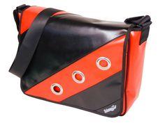 Messenger+Tasche+LKW+Plane+Tasche+aus+LKW+Plane+von+taschenmanufaktur-jansen+auf+DaWanda.com Planer, Messenger Bag, Satchel, Bike, Etsy, Inspiration, Fashion, Upcycled Crafts, Bicycle