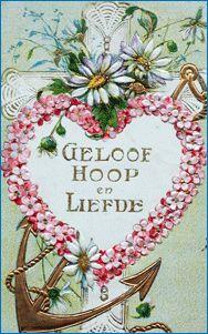 old dutch card