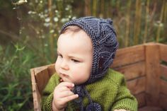 The Enchanted Forest Collection Hand knitted baby and toddler accessories by Gynka Knitwear Baby Knitting, Pixie, Knitted Hats, Knitwear, Pattern Designs, Crochet, Enchanted, Handmade, Collection