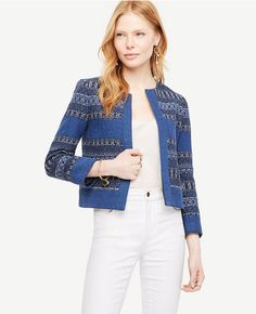 Primary Image of The Mixed Stripe Jacket