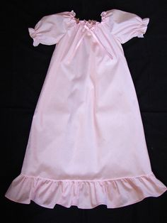 Girls Pink Cotton Nightgown and Matching by SewnFromTheHeart4U, $23.00