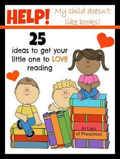 Here's a great list of ideas to encourage your little ones to read!