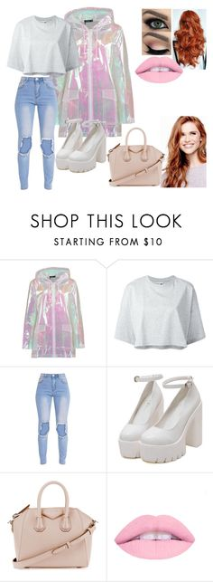 """Untitled #51"" by breemcguire on Polyvore featuring Boohoo, Puma, Mon Cheri, Givenchy and L.A. Girl"