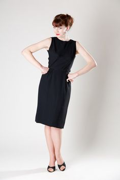 Vintage 1950s #audreyhepburn dress $195.00 #vintage #1960s #breakfastattiffanys #dress #lbd