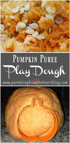 Enjoy sensory play this fall with this recipe for pumpkin puree play dough! It's perfect for toddlers who love to play, and a great way to use up any extra canned pumpkin! Toddlers, preschoolers, and beyond will enjoy this simple recipe for fall fun. #pumpkin #playdough #recipe #kidsactivities #toddlers #preschool #kids Canned Pumpkin, Pumpkin Puree, Pumpkin Recipes, Fall Recipes, Pumpkin Crafts, Infant Activities, Activities For Kids, Diy For Kids, Crafts For Kids