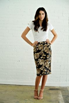 Utah designer Bree Lena sequin skirts and dresses | Mode-sty #nolayering