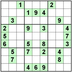Number Logic Puzzles: 22554 - Sudoku size 9