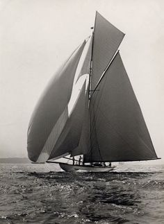 15 metres : sailing like in the good old times