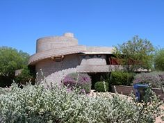 David Wright house, a Frank Lloyd Wright house in Phoenix, AZ that was recently threatened with demolition.