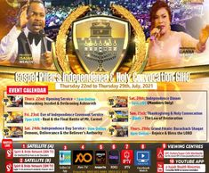 Get Ready! It's THE GOSPEL PILLARS INDEPENDENCE AND HOLY MATRICULATION Connect To YouTube Live. GosoelPillarsChurch #DrWealth #DrIsaiahWealth Youtube Live, To Youtube, Bless The Lord, Event Calendar, Upcoming Events, The Covenant, Independence Day, Ministry, Holi