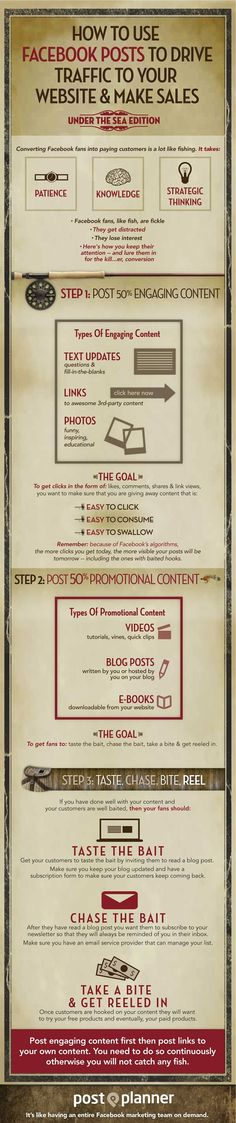 How To Use #Facebook to Generate More Traffic #infographic