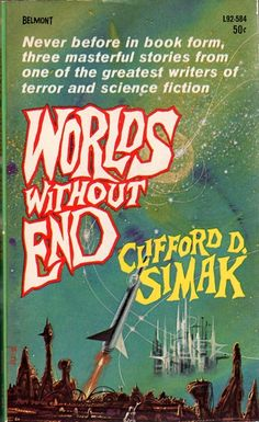 Worlds Without End (1964), Clifford D. Simak, cover by Richard Powers