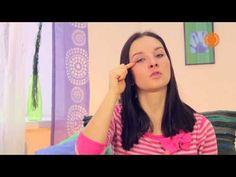 Фейсбилдинг с Евгенией Баглык. Упражнения для глаз - YouTube