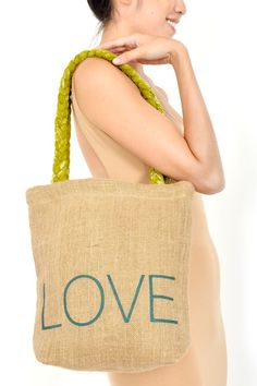 Love Carry All from @Hearts - In this time of reflection and beyond, for me, the touchstone is always love. It's the great transformer, with the power to reinvigorate body and soul. In the spirit of love conquers all, this beautiful handmade tote delivers empowerment to women who have escaped the sex trade industry in India. It has been crafted from a combination of jute and recycled sari material http://designandkindness.blogspot.com.au/2013/01/reinvigorate-your-look-and-life-for.html