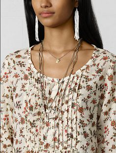 Denim and Supply - Floral Boho Top