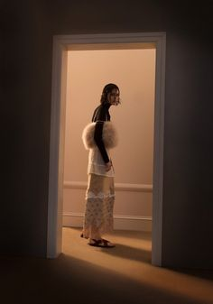 """midnight-charm: """"1 Girl, 1 Louis Vuitton Slip, 7 Ways"""" Lida Fox by Max von Gumppenberg & Patrick Bienert for CR Fashion Book"""