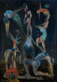 Jerzy Tchórzewski, Acrobatics, 1954