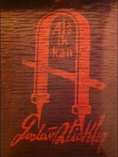 Gustav+Stickley+Style   Gustav Stickley logo - 1900s American Arts & Crafts Furniture Design