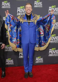 Macklemore 2013 - Most outrageous MTV Movie Awards fashion