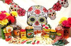 Fiesta Bar Dulceria Candy Kit for Dia de los by InNonnasKitchen