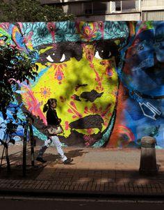 STINKFISH + ZASINHA  ..  [Bogota, Colombia 2013] (close up)