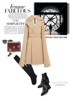 """""""Time has a way of showing us what truly matters"""" by blonde-bedu ❤ liked on Polyvore featuring Aéropostale, Wolford, Illesteva, Gareth Pugh, Yves Saint Laurent, Simon Teakle and Valentino"""