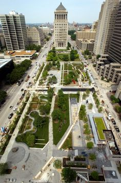 """Citygarden St. Louis Just a few blocks from the Gateway Arch and the St. Louis Cardinals' Busch Stadium, this new park has helped revive the city center, Phillips says. """"It was a park that didn't work and we have so many of these in the United States."""" Now with a video wall, sculpture garden and a 102-jet spray plaza, the public has finally embraced the area, and made it a success. 314-241-3337; citygardenstl.org"""