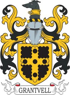 Grantvell Family Crest and Coat of Arms