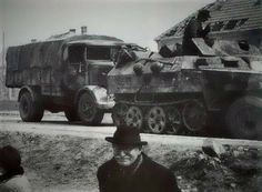 of Panzer Army belonging to HJ while in Hungary during Unternehmen Frühlingserwachen (Operation Spring Awakening) March Spring Awakening, World Of Tanks, Budapest Hungary, Panzer, Military Vehicles, Ww2, World War, Places To Visit, Germany