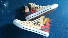 #naruto shoes custom painted naruto shoes painted shoes