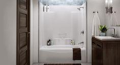 tub insert for shower. Bathroom Remodel Removing A Fiberglass Shower YouTube  Basement Diy On Pinterest Grey Yellow Bathrooms