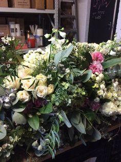 F45 Casket Flowers, Funeral Flowers, Casket Sprays, Floral Wreath, Wreaths, Beautiful, Decor, Decoration, Decorating