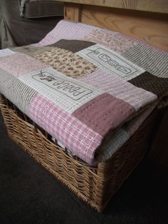 Ruth's quilt - Leanne's House Made by Rouge Cerise