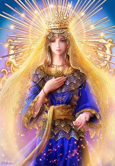Our Lady of Hope by Takaki