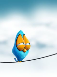 Bird Cartoon Character #bird #character