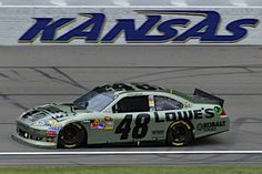 Jimmie Johnson - 3rd at Kansas Speedway