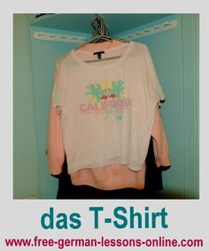 Learn how to say T-Shirt in German.