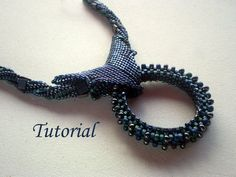Tutorial Blue Variety Necklace - Beading pattern