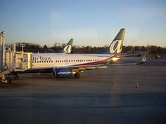 Twin AirTran tails at MDT.
