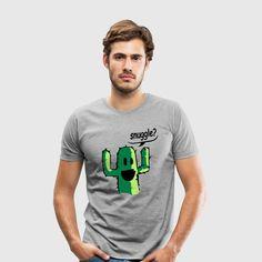 snuggle - Premium-T-shirt herr