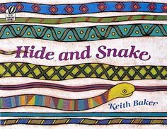 """In this amusing picture book, a colorful snake challenges children to find him as he slithers through pages of familiar objects. """"Baker's elaborate acrylic designs, variety of lush hues, and sly wit provide a feast for the eyes while maintaining the cohesive personality of the book from page to page."""""""