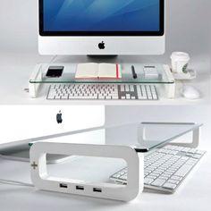 Computer organizer shelf - perfect for work!