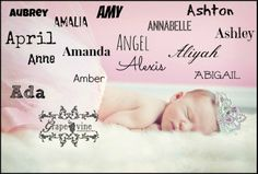 Baby #girl names that start with A begin the alphabet off right!